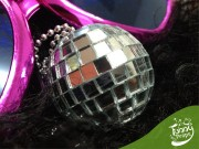 Collar Classic Disco Ball