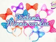 Diadema Minnie con luz