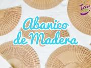Abanico de Madera